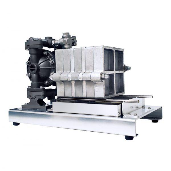 Filter Press, Short Platform, 6-Filter, Air Pump